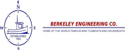 Mini Tugboat Plans and Houseboat Plans by Berkeley Eastman, Hehr RV
