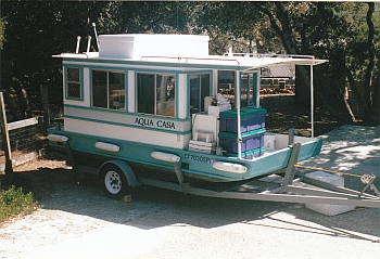 Adventure Craft Trailerable Houseboats, Marine Products, Boat