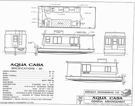 homemade houseboat plans