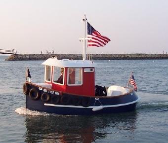 Candu E-Z, Mini Tugboat Plans, Tugboats