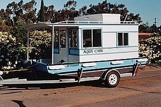 Trailerable Houseboat Plans houseboat plans , aqua casa, cape codder ...