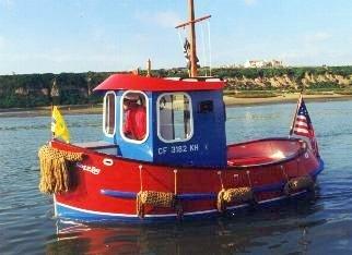 Mini Tugboat Plans, Tugboat Plans, Wooden Boat Plans, Tugboats