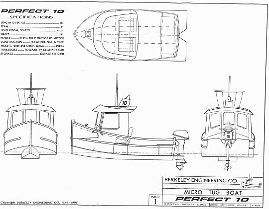 Perfect 10 mini tugboat plans tugboat plans for Design your perfect house online